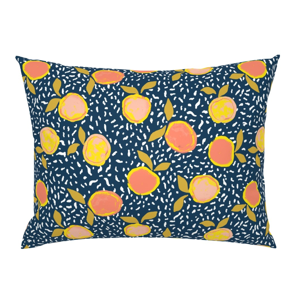 Campine Pillow Sham featuring Orange by susanna_nousiainen
