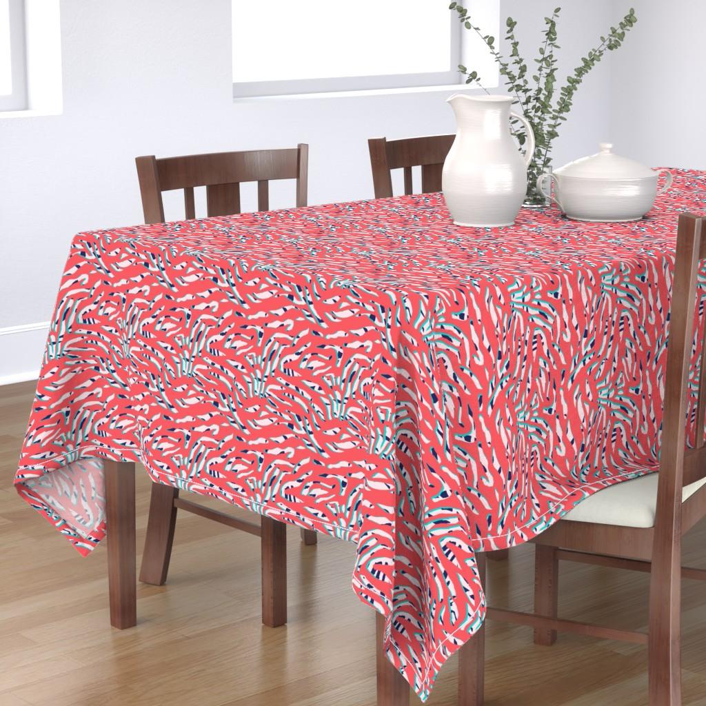 Bantam Rectangular Tablecloth featuring ZeepraII by susanna_nousiainen