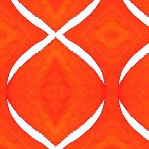 Helix-orange and white