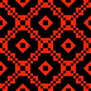 Dream Paths-Red-Black