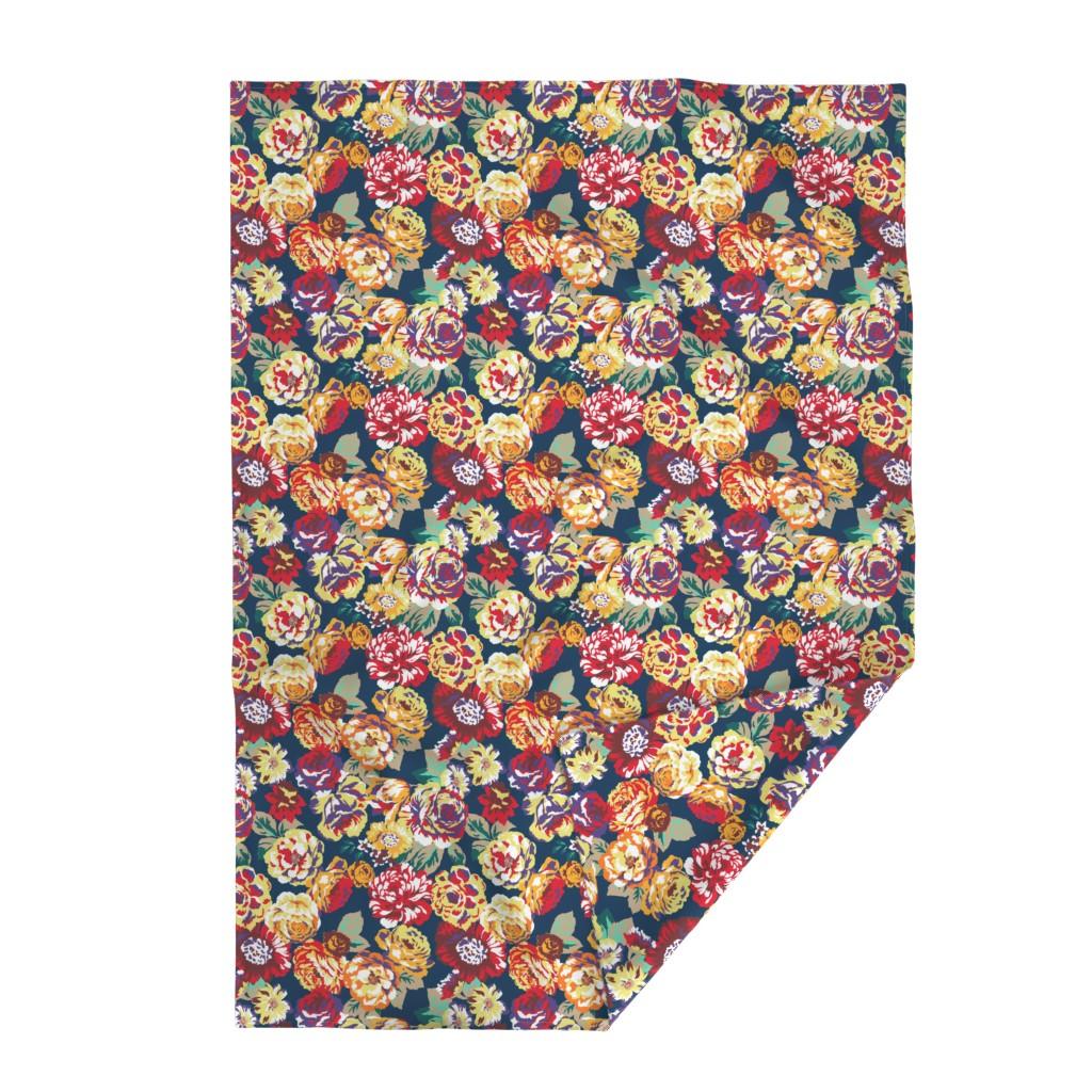 Lakenvelder Throw Blanket featuring Vintageroses by susanna_nousiainen