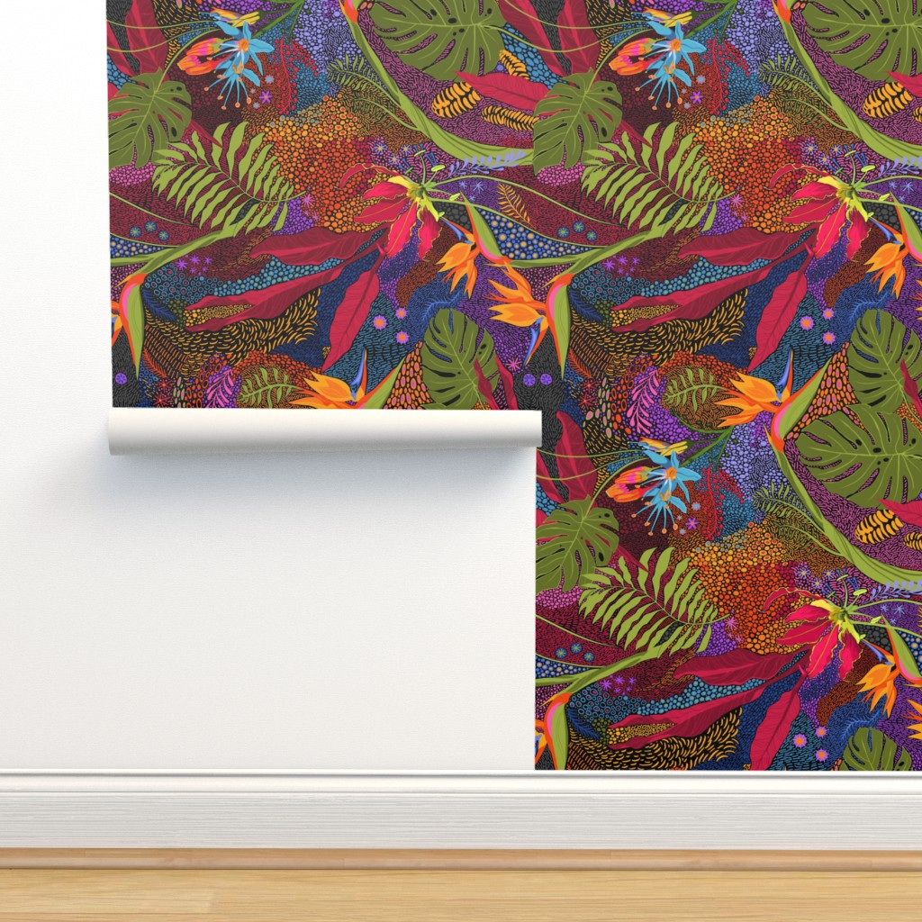 Isobar Durable Wallpaper featuring Tiki Tiki by reneeciufo
