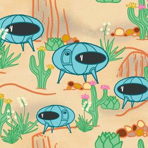 succulent desert pods