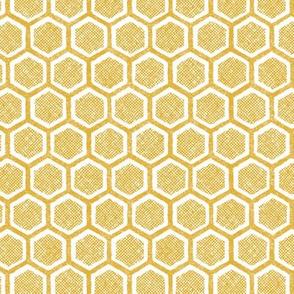 honeycomb (mustard)