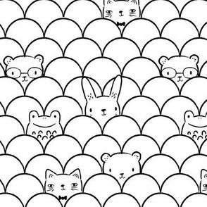 Peek-a-boo Animals Small