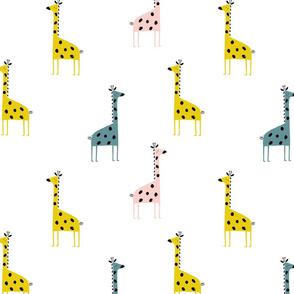 Giraffe Baby Giraffe in colour