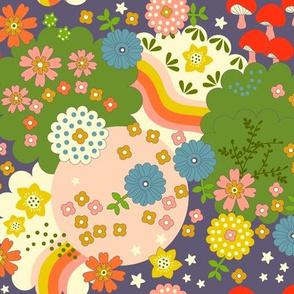 Cosmic Flowering - Ultraviolet