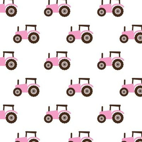 Super cool kids tractor farm truck country side adventures pink girls