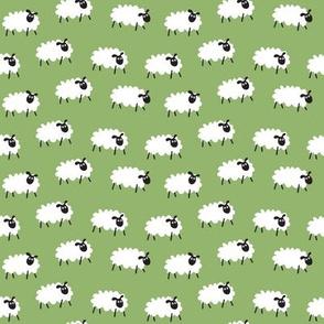 Counting Sheep - greenery
