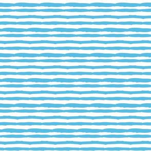 Little Paper Straws in Blue Tide Horizontal