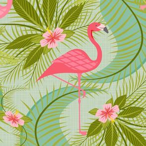Flamingo Paradiso on Aqua II