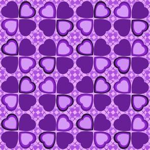 Lucky in love - purple