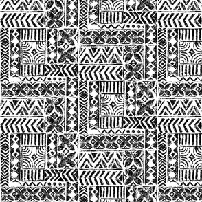 Hawaiian Vintage Tapa-black