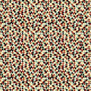 Retro Linoleum Triangles