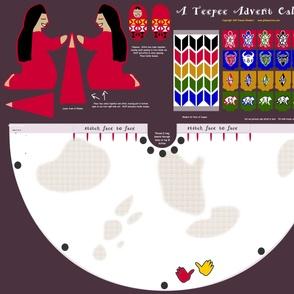 A Teepee Advent Calendar