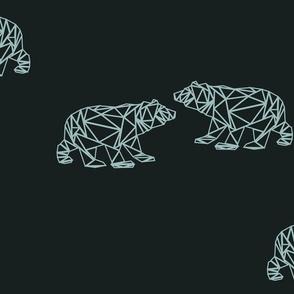 Polar bear geometric