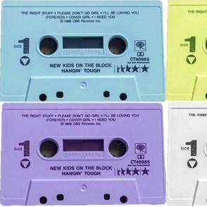 New Kids Cassettes
