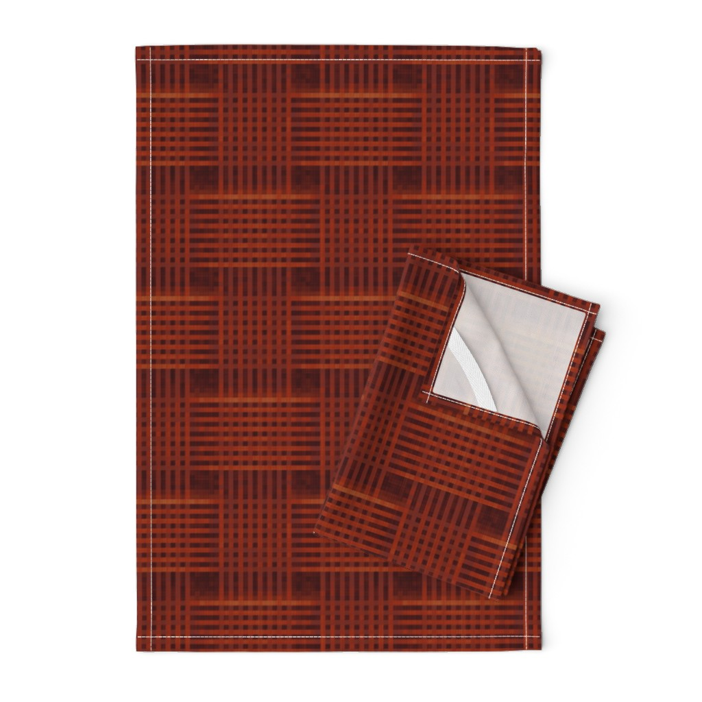 Orpington Tea Towels featuring tawny_merlot_sherry by wren_leyland