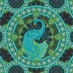 Peacock Pysanka