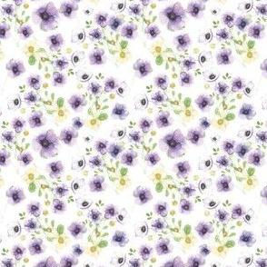 Anemone Watercolor Purple - SM