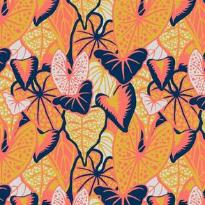 Tropical Foliage (medium) - Limited Palette