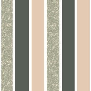 textured stripes in green and blush