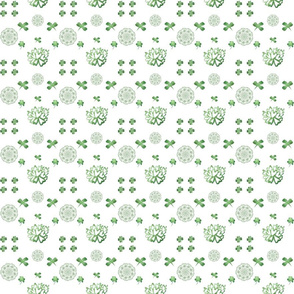 Shamrock White Background