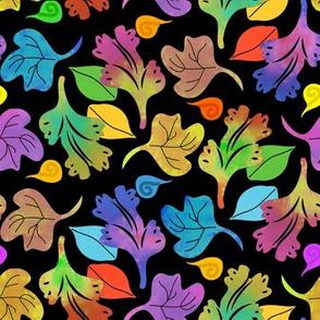 Bohemian Jungle Leaves