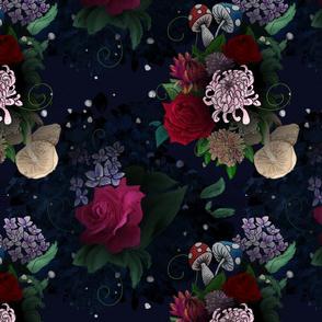Moody Flowers & Fungi