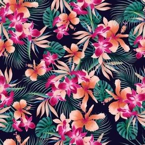 peachy tropics navy