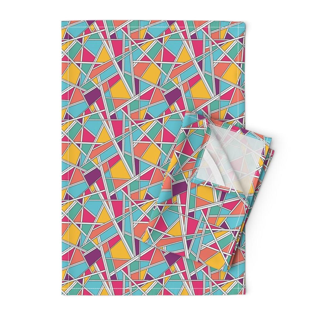 Orpington Tea Towels featuring Kinda 80's by doodlena