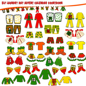 2011 Elf Laundry Day Advent Calendar