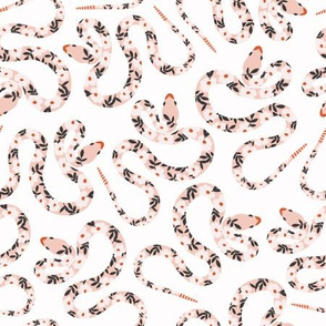 Garden Snakes | Pink