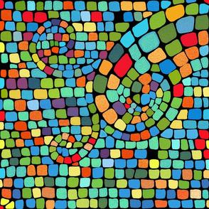 vivid mosaic
