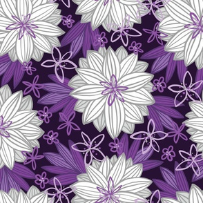 Bohemian Tropics (Purple)