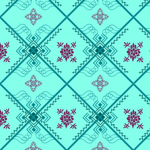 colorenergydesigns's floral folk