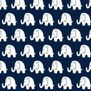 Reverse Little Navy Elephant