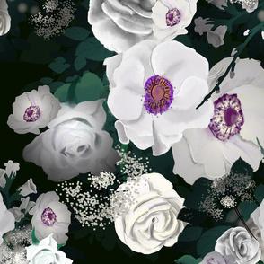 Mystic Moody Flowers
