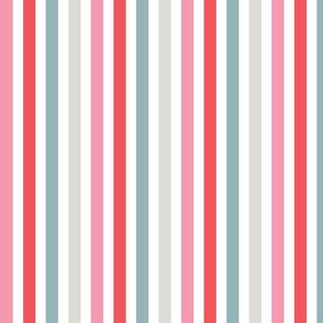 Red Bean design - Stripes