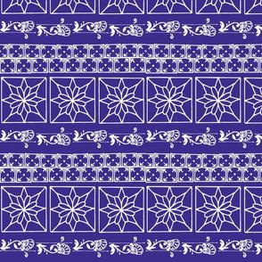 batik indigo Scandanavian