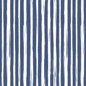 Brushstrokes blue
