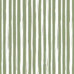 Brushstrokes green