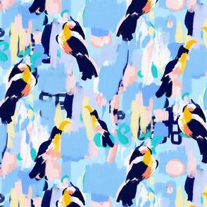 Boho Birds in Paradise (Small)