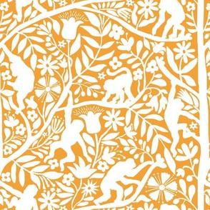 Kahlo's monkeys yellow