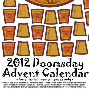 2012 Doomsday Advent Calendar