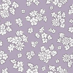Forest flowers lilac