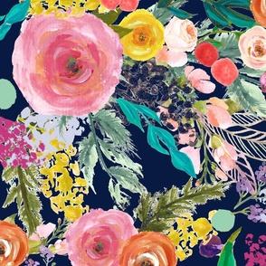 Autumn Blooms Florals - Custom for Kristi