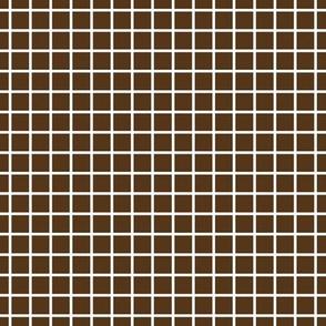 "windowpane 1/2"" brown reversed"