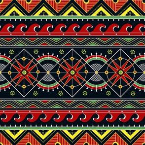 Pysanka. Geometric motif