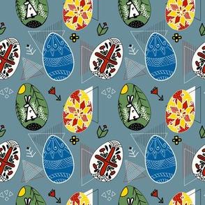 happy-easter-pysanky-pattern